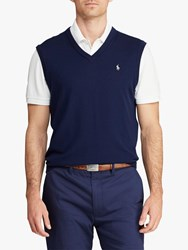 Ralph Lauren Polo Golf By Merino Tank Top Sweater French Navy