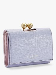 Ted Baker Maciey Leather Matinee Purse Light Blue