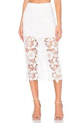 Sen Francis Skirt White