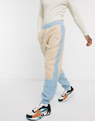 Fila Camillo Sherpa Jogger In Powder Blue