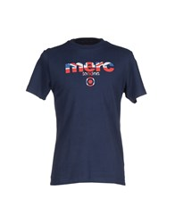 Merc Topwear T Shirts Men Dark Blue