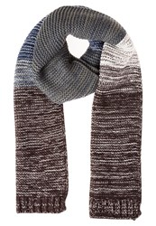 Your Turn Scarf Dark Grey Offwhite