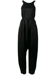 Christian Wijnants Sleeveless Jumpsuit Women Polyester 34 Black
