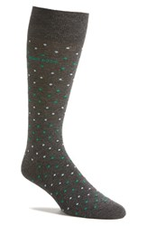 Boss Men's 'Rs Design Mini Dot' Socks Charcoal