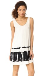 Bb Dakota Lennon Tie Dye Dress Dirty White
