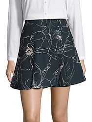 Keepsake Line Drawn Floral Skirt Sketch Flower