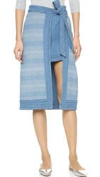 Free People Double The Fun Skirt Farewell Party Wash