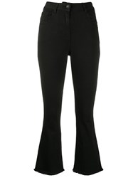 Semicouture High Rise Flared Jeans 60