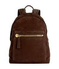 Tom Ford Buckley Suede Backpack Chocolate