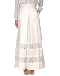 Philosophy Di Alberta Ferretti Skirts Long Skirts Women White