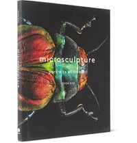 Abrams Microsculpture Portraits Of Insects Hardcover Book Black
