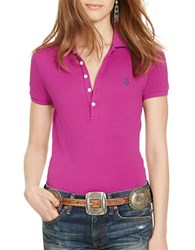 Polo Ralph Lauren Skinny Fit Stretch Shirt Magenta