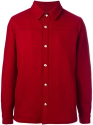 A.P.C. 'Paolo' Blouson Jacket Red