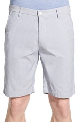 Men's Boss 'Rice' Slim Fit Dobby Stripe Shorts