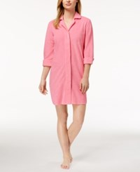 Charter Club Snap Front Terry Robe Created For Macy's Cottage Pink