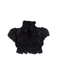 Betty Blue Topwear Shrugs Women Black