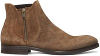 Hudson H By Brown Suede Mitchell Boots
