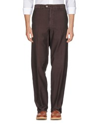 Zegna Sport Casual Pants Dark Brown