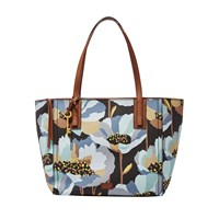 Fossil Zb6911992 Emma Tote Handbag Graphic Floral Print
