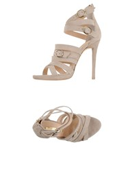 Atos Lombardini Sandals Light Grey