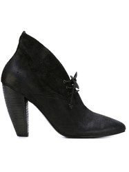 Marsell Marsell Lace Up Booties Black
