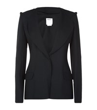 Dkny Hooded Blazer Jacket Female Black
