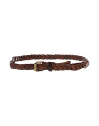 7 For All Mankind Belts Cocoa