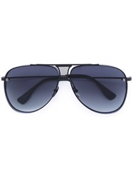 Dita Eyewear Decade Two Ltd Sunglasses Unisex Acetate Titanium One Size Black