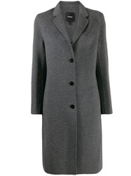 Theory Single Breasted Coat 60