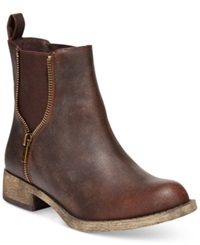 Rocket Dog Camilla Booties Women's Shoes Brown Galaxy