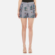 Paul Smith Ps By Women's Chambray Shorts Blue