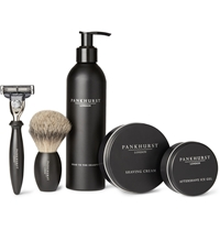 Pankhurst London Shaving Set Black