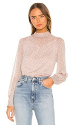 Minkpink Be Someone Top In Blush. Blush And Black