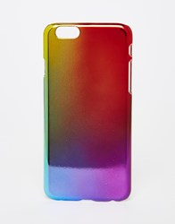 Asos Rainbow Ombre Iphone 6 And 6S Case Multi