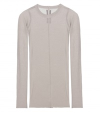 Rick Owens Long Sleeved Top Grey