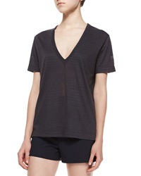 Zadig And Voltaire Wassa Short Sleeve Burnout Top