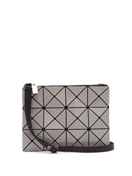 Issey Miyake Lucent Cross Body Bag Grey Multi