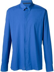 Haider Ackermann Loose Fit Shirt Blue