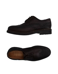 Berwick 1707 Lace Up Shoes Dark Brown