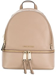 Michael Michael Kors Classic Backpack Nude And Neutrals
