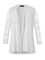Grace Made In Britain Lace Cardigan Cream