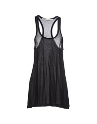 Isabel Benenato Topwear Vests Women Black