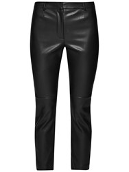 French Connection Atlantic Pu Cropped Trousers Black