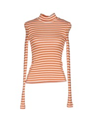 Patrizia Pepe Turtlenecks Orange
