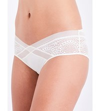 Calvin Klein Low Rise Hipster Briefs 101 Ivory