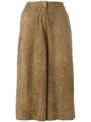 Desa 1972 Cropped Pants Brown
