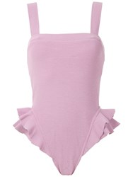 Clube Bossa Barres Swimsuit Pink