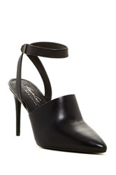 Kenneth Cole Reaction Plexi Ankle Strap Pump Black