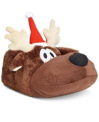 Club Room Reindeer Slippers Only At Macy's