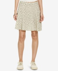 Denim And Supply Ralph Lauren Floral Print A Line Miniskirt Floral Multi